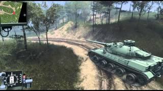 getlinkyoutube.com-SpinTires test tank