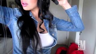 getlinkyoutube.com-Adilene Idalie - Hair Tutorial Curly (Cabello Chino)