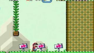 getlinkyoutube.com-Zagrajmy w Super Mario World (część 15) Czekoladowa forteca ? A jak ! :D
