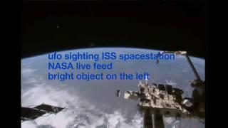 getlinkyoutube.com-NEW UFOs NASA live feed Amazing ufo Sightings NASA alien captured on tape