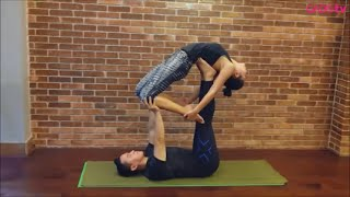 getlinkyoutube.com-AcroYoga Bareng Pevita Pearce