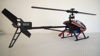 getlinkyoutube.com-WLToys V950 Flybarless 6G RC Electric 3D Helicopter Review