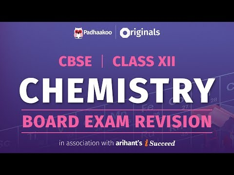 CBSE Exams 2020 | Chemistry Revision | Class 12