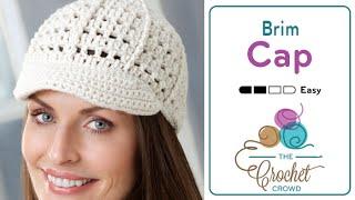 How to Crochet A Hat: Visor Cap