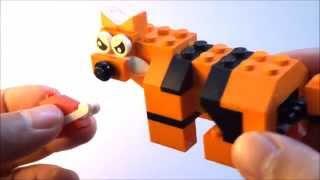 getlinkyoutube.com-Step-by-step: How to build a Lego Tiger - Lego Classic 10696 (2015)