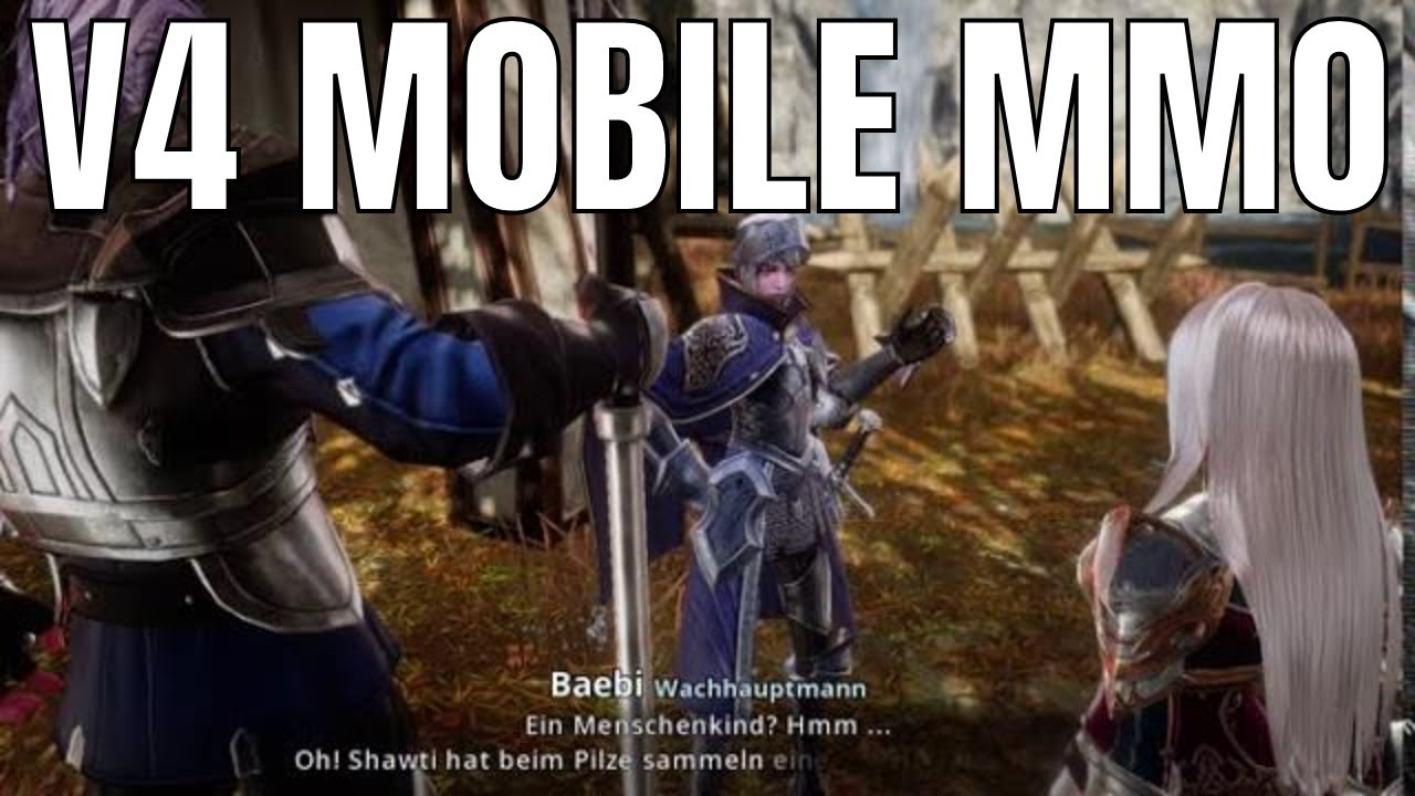 V4 Mobile mmorpg ( Free Mobile Game )