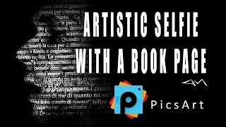 getlinkyoutube.com-PicsArt Editing Tutorial HOW TO CREATE AN ARTISTIC SELFIE WITH A BOOK PAGE by paolomore #picsart