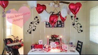 getlinkyoutube.com-ideas de decoracion para aniversario,cena romantica,etc