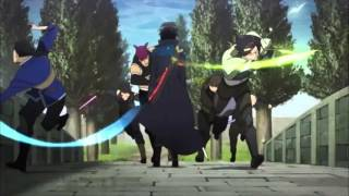 getlinkyoutube.com-One Direction, ft. Sword Art Online----Drag Me Down