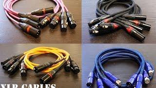 getlinkyoutube.com-XLR Cables Comparison Review (Mogami, AudioQuest, Canare, Rockville)