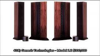 getlinkyoutube.com-Worlds 20 Most Expensive Speakers Over $100,000