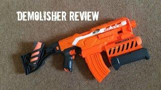 getlinkyoutube.com-Nerf N-Strike Elite Demolisher 2 In 1 Unboxing, Review & Range Test