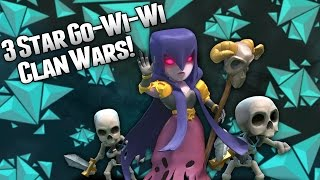 getlinkyoutube.com-Clash of Clans - Gowiwi 3 Star Vs Max TH9 Clan War Attack