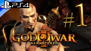 getlinkyoutube.com-God of War 3 PS4 Remastered: Gameplay Walkthrough Part 1 - Live Stream