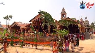 அராலி ஆவரம்பிட்டி முத்துமாரி அம்பாள் கோவில் இராஜகோபுர அத்திவார சங்கு ஸ்தாபனம் 09.02.2017