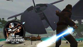 getlinkyoutube.com-Star Wars Battlefront II Mods (PC) HD: Battles of the Storm - Kashyyyk: Cataclysm