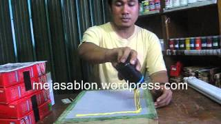 getlinkyoutube.com-cara simple membuat film sablon kaos