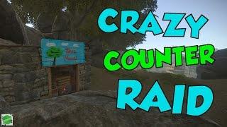 getlinkyoutube.com-CRAZY COUNTER RAID!! | Rust