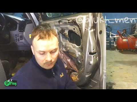 Замена дверного замка Toyota Ipsum ACM21