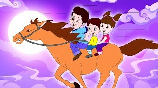 लकड़ी की काठी | Lakdi Ki Kathi | Popular Hindi Children Songs | Animated Songs By JingleToons