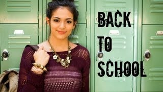 getlinkyoutube.com-Fast & Fabulous: Back to school Hair, Makeup, Outfit!