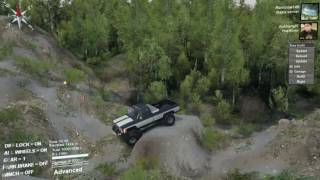 getlinkyoutube.com-Chevy Pickup  Vs Dodge Rock crawler! MP