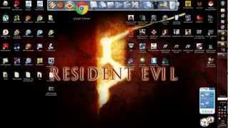 getlinkyoutube.com-Como poner y jugar Resident Evil 5 con 2 mandos (bien explicado)