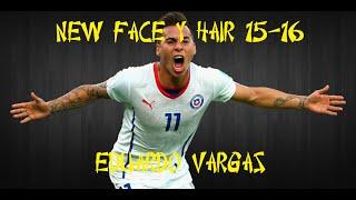 NEW FACE Y HAIR EDUARDO VARGAS 2015-2016 :: PES 2013