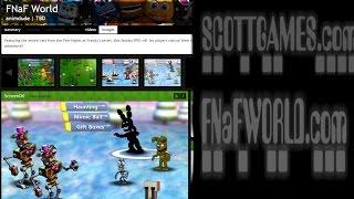 getlinkyoutube.com-(OFICIAL) FNAF World en INDIEDB y Nueva Imagen ScottGames y Fnaf World en Negro y Gris!