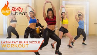 getlinkyoutube.com-Latin Fat Burn Sizzle Workout: Burn to the Beat- Keaira LaShae