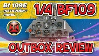 getlinkyoutube.com-1/4 EDUARD BF-109E INSTRUMENT PANEL OUTBOX REVIEW