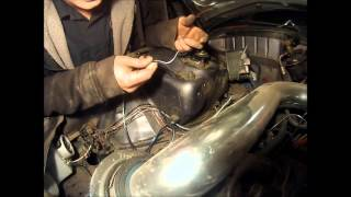 getlinkyoutube.com-How to wire tuck a honda (passenger side)