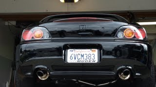 getlinkyoutube.com-s2000 J's Racing Exhaust 70 rs catback Sound Clip