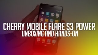 getlinkyoutube.com-Cherry Mobile Flare S3 Power Unboxing and Hands-on