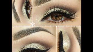 getlinkyoutube.com-Легкий вечерний макияж для карих глаз