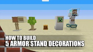 getlinkyoutube.com-5 More Armor Stand Builds/Decorations In Minecraft!