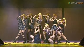 150831 [HD] SNSD-Genie+GEE @ Tencent K-Pop Live Music