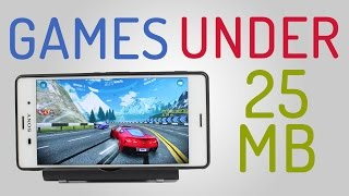 getlinkyoutube.com-Best Small Size Android Games 2016 (Under 25mb) #1