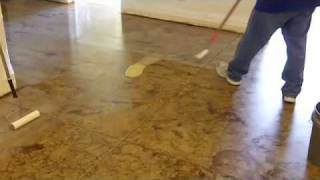 getlinkyoutube.com-Do it yourself concrete staining: How to stain concrete floors