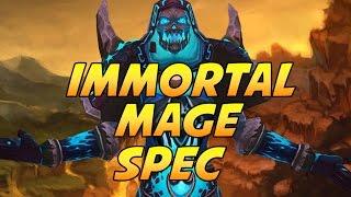 getlinkyoutube.com-Immortal Mage Spec ( Warlords of Draenor PvP )