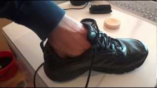 getlinkyoutube.com-How to Polish Leather Shoes using Dubbin Neutral - Step by Step Instructions - Tutorial