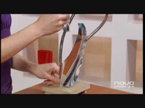 Utilísima Bien Simple, Lámpara con botellas, Eva Clemente