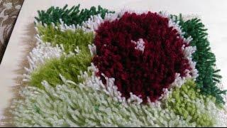 getlinkyoutube.com-How to Make a Handmade and Easy Carpet   How to Make a Handmade and Easy Carpet + Tutorial .
