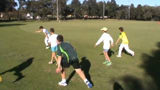 Dynamic warm up for young developing cricketers
