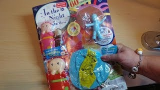 getlinkyoutube.com-IN THE NIGHT GARDEN MAGAZINE + FREE IGGLEPIGGLE AND TOMBLIBOO DOLLS UNBOXING