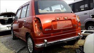 getlinkyoutube.com-廃車のダイハツ ミラジーノ DAIHATSU Mira Gino Scrap car