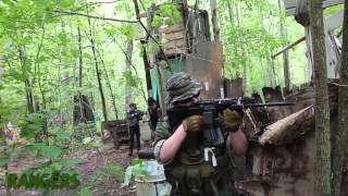 getlinkyoutube.com-Operation: Gothic Viper 1 - Part 1 - Rangers Assault The Town (c7viper Airsoft)
