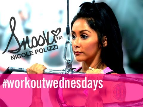 Lat Pull Downs: Workout Wednesdays w/ Snooki @Snooki @Cupps27