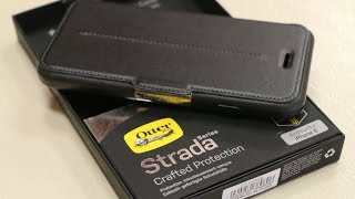 getlinkyoutube.com-Ultimate Protective Leather Folio - OtterBox Strada Series Case - iPhone 6 - In-depth Review