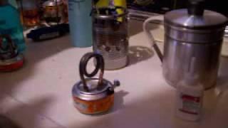 getlinkyoutube.com-Copper Coil Alcohol Stove